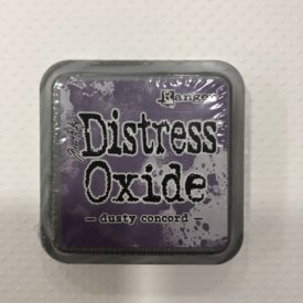 Tinta Distress Oxide, -dusty Concord-