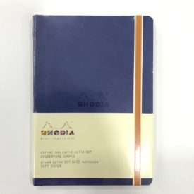 Rhodia Notebook, Soft Cover, Azul. 160 Pág.