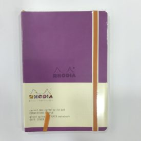 Rhodia Notebook, Soft Cover, Lila. 160 Pág.
