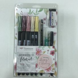 Tombow Watercoloring Set, Floral .
